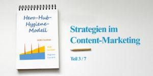 Das Hero-Hub-Hygiene-Modell - Serie zu den Strategien im Content-Marketing